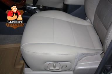 Ремонт сиденья экокожей DAKOTA (Auto-Microfiber) Mitsubishi Pajero III